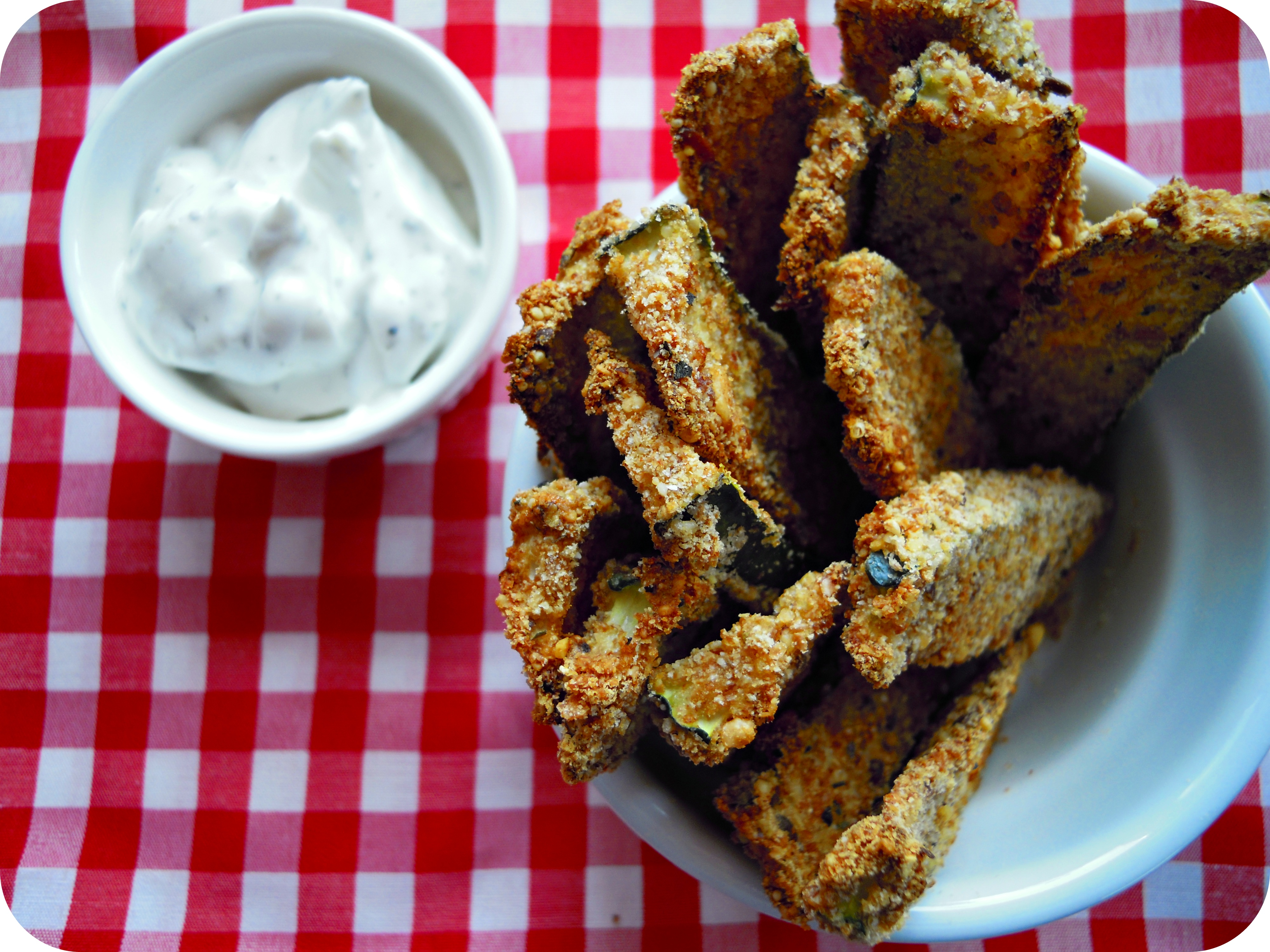 Baked Cucumber Fries