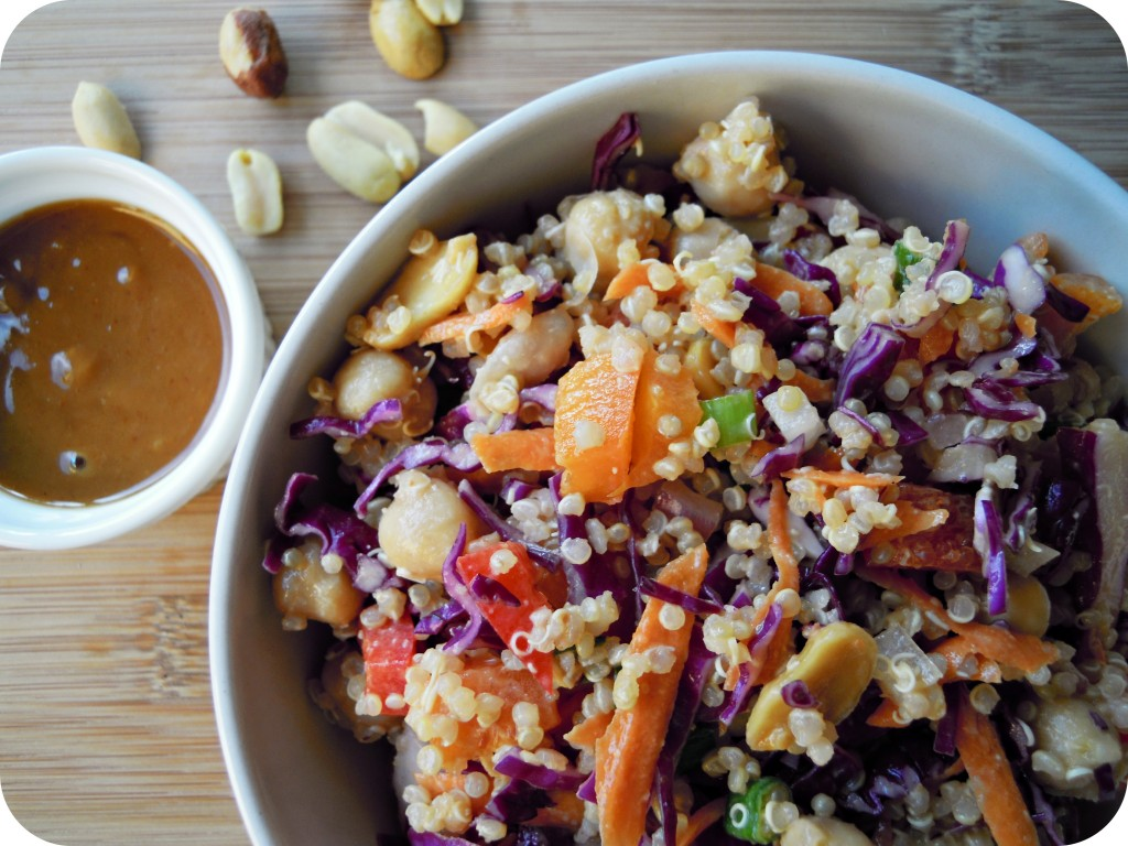 Thai quinoa salad 2