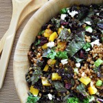 kale & wheat berry salad 1