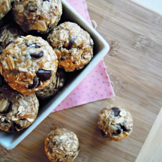 Peanut Butter & Honey Oat Balls