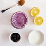kefir blueberry smoothie 3