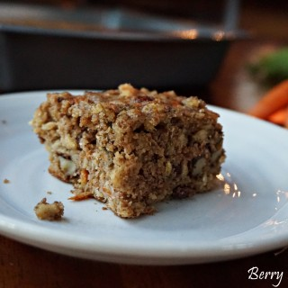 (Omega-3 Powered) Buttermilk Oatmeal Carrot Breakfast Squares