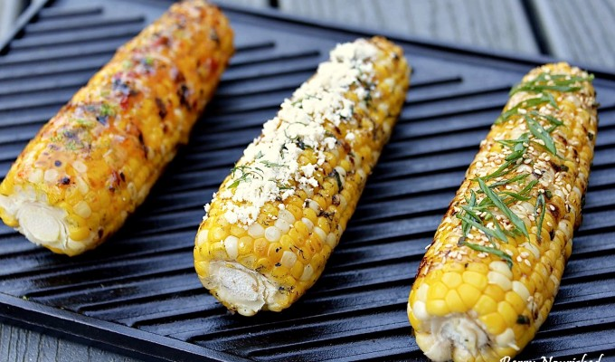 Seasoned Summer Corn on the Cob
