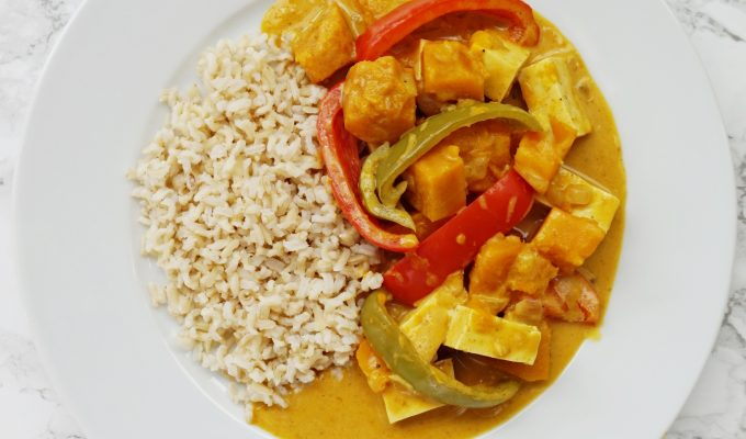 Coconut Kabocha Squash Curry